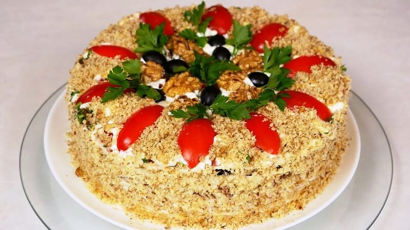 Салат «Ореховое чудо»