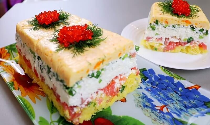 НОВЫЙ рецепт салат «Сувенир»