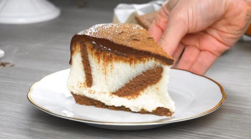 Самый простой торт без выпечки