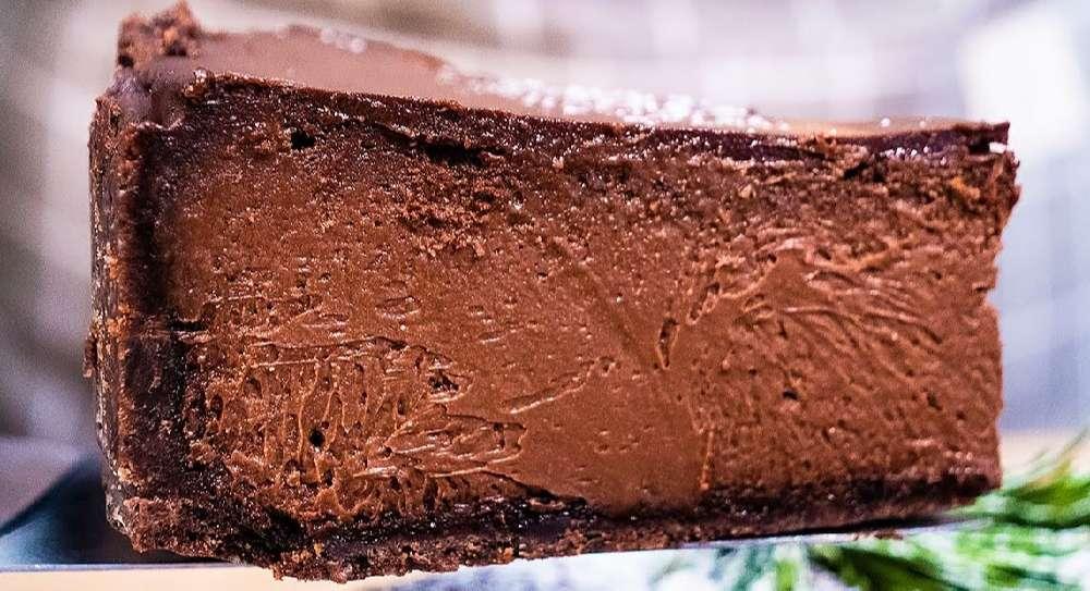 Самый вкусный шоколадный чизкейк