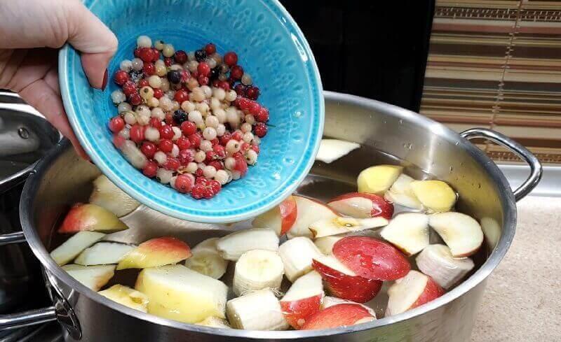 Самый вкусный зимний компот без сахара