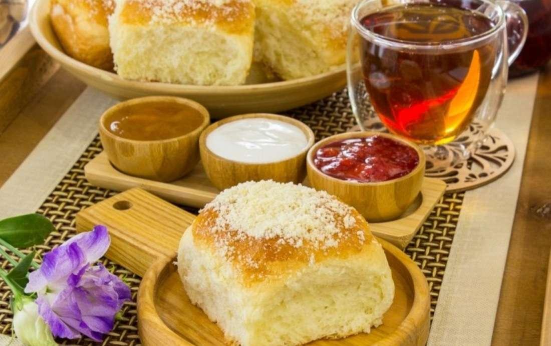 Сдобные ароматные булочки «Посыпушки»