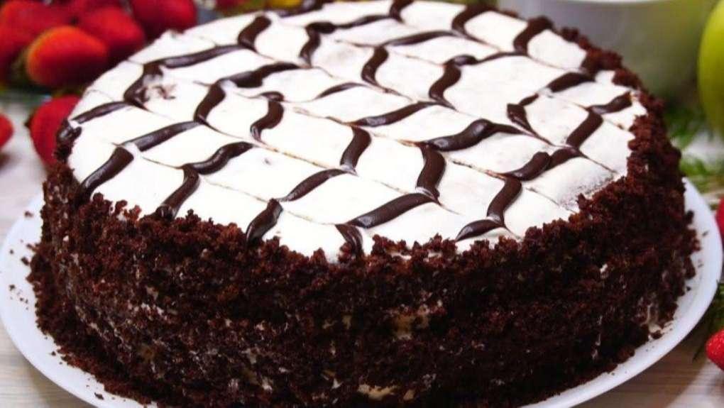 Шоколадный торт «Пять копеек»