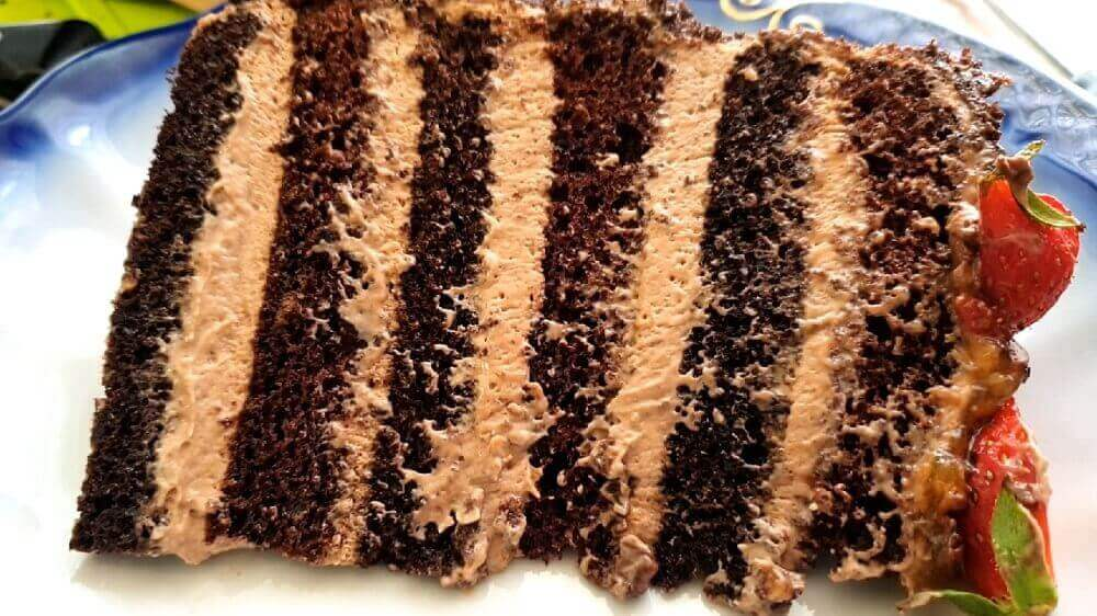 Шоколадный торт Прага: пошаговый рецепт