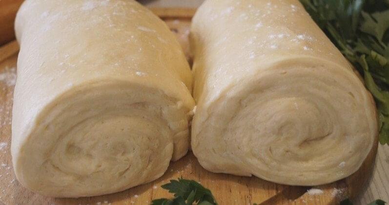 Супер скороспелое и быстрое слоеное тесто
