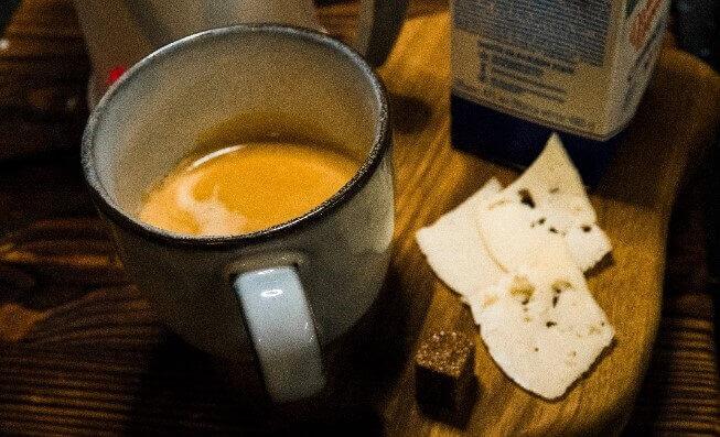 Сырный кофе - рецепт для гурманов!