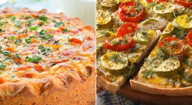 Сытные овощные пироги к ужину ТОП-10