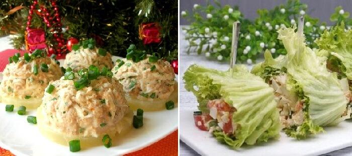 10 блюд на праздничный стол: закуски, салаты, горячие блюда