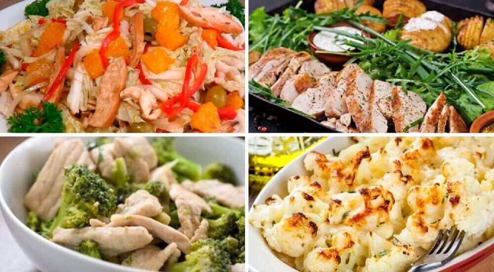 ТОП-10 легких рецептов диетических блюд