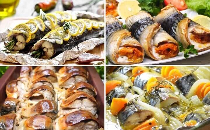 Скумбрия запеченная в духовке: 10 идей, как приготовить рыбку вкусно!