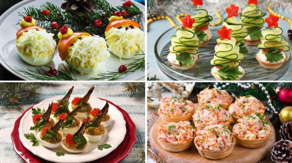 ТОП-10 праздничных закусок на Новогодний стол!