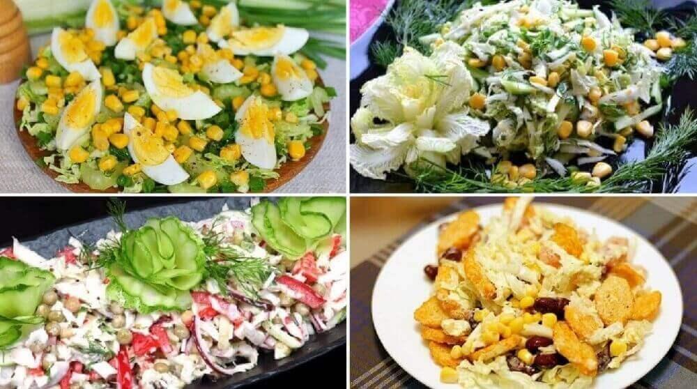 Вкусные салаты с пекинской капустой: ТОП-20 рецептов!