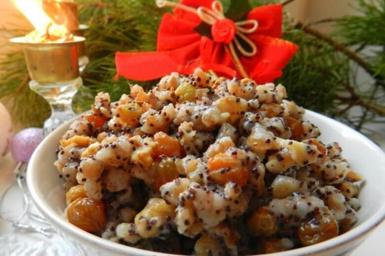 Топ-5 рецептов вкусной кутьи на Рождество