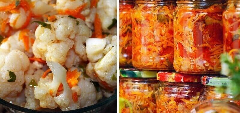 ТОП-5 вкуснейших овощных салатов на зиму