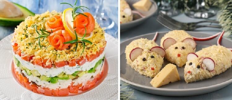 Новогодние блюда 2020: ТОП-7 рецептов праздничных салатов