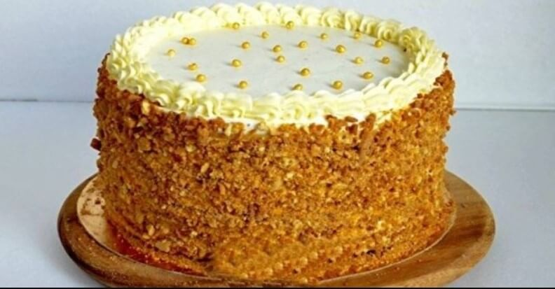 Торт медовик «Винни Пух»