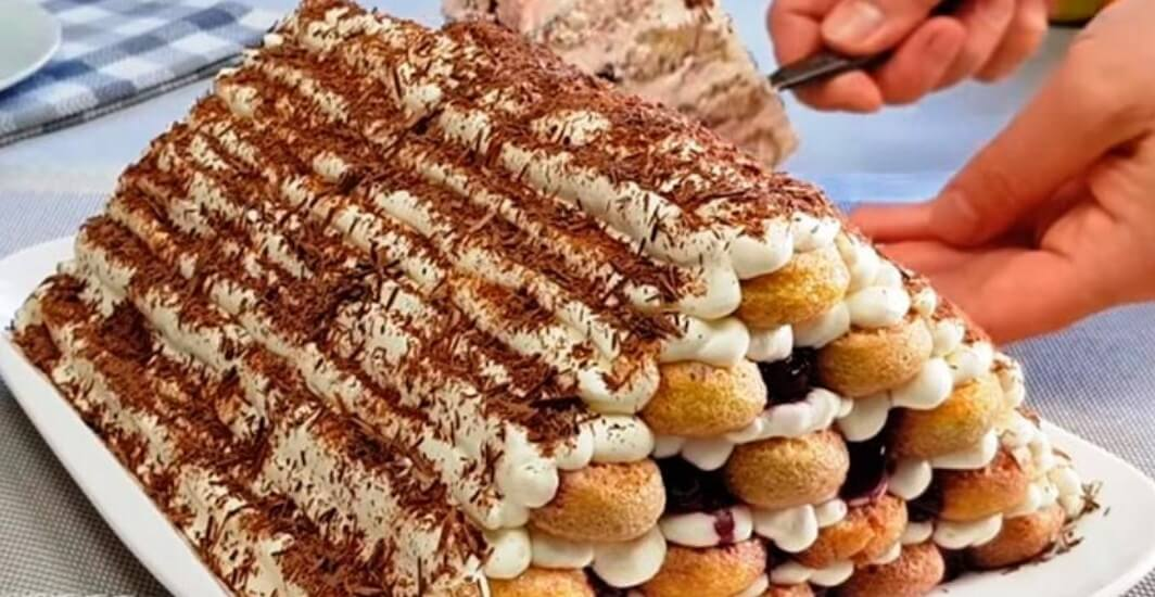 Торт «Монастырская изба» без выпечки