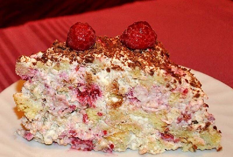 Торт «Муравейник» бисквитный