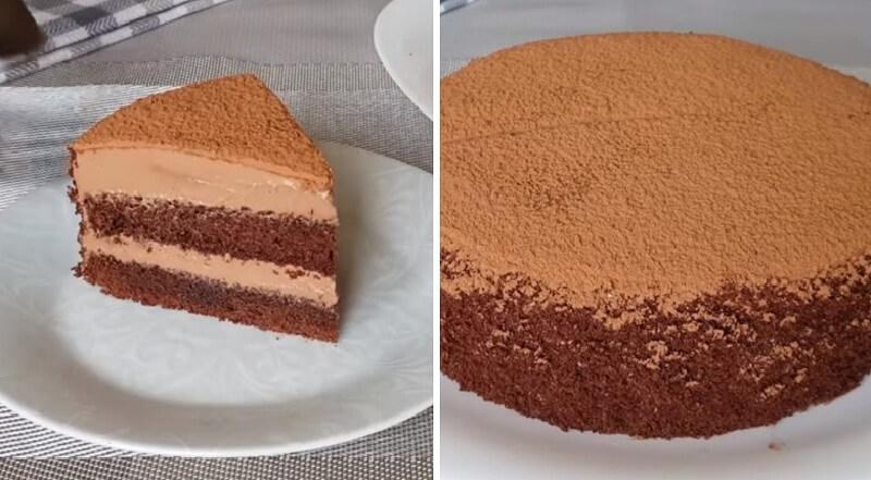 Торт «Шоколадный каприз»