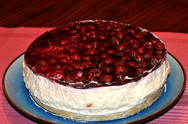 Торт «Творожное безумие» без выпечки