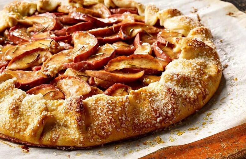 Три рецепта постной выпечки с яблоками