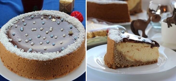 Творожный пирог «Новогодняя Ночь»