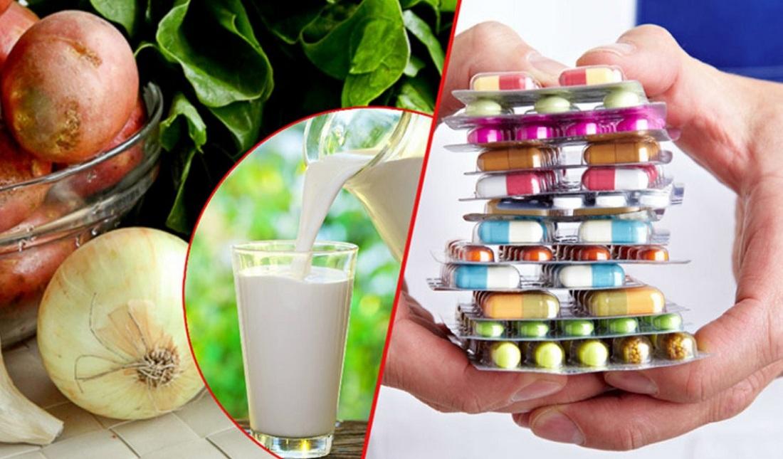 Как сочетать продукты, травы и лекарства