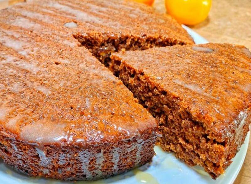 Ванильный пирог с ароматом апельсина