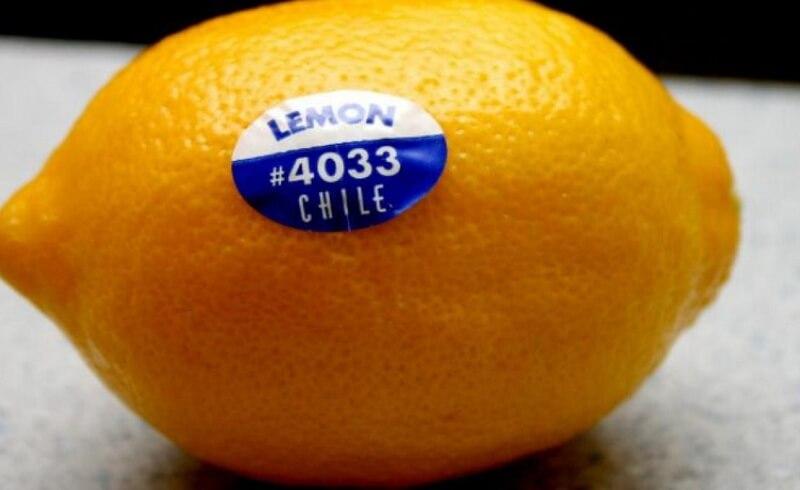 Важная информация про наклейки штрих-кодов на фруктах