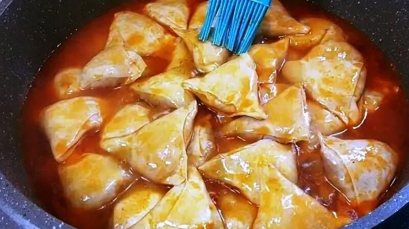 Вкуснейшее узбекское блюдо «Хамир хасип»