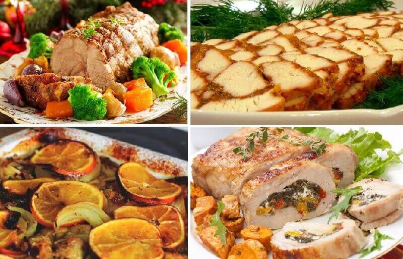 Вкусные мясные блюда к Рождеству и Новому году!