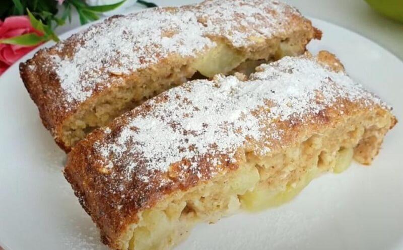 Вкуснейший диетический пирог без муки