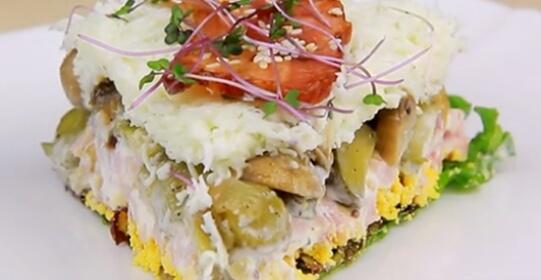 Вкуснейший салат к праздничному столу «Сытый муж»