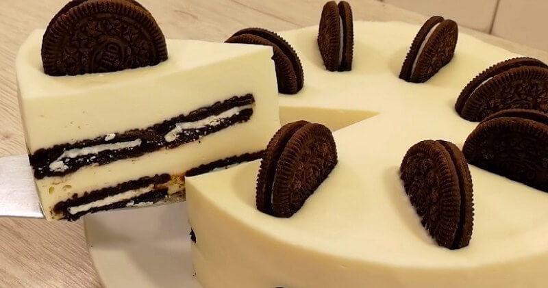 Вкуснейший торт на кефире