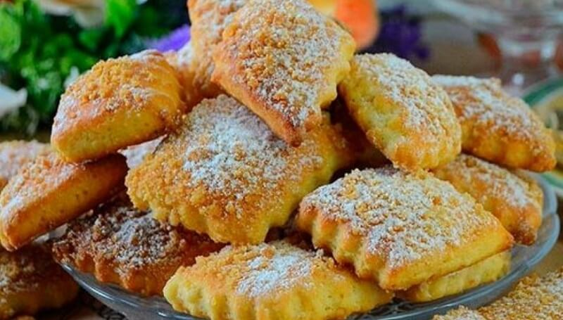 Вкусное, нежное печенье на сметане