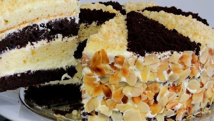 Вкусный и простой торт Сметанник