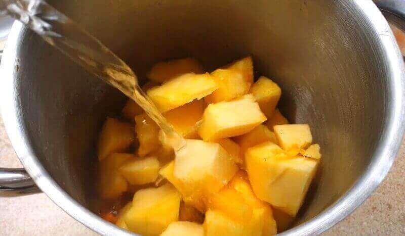 Рецепт супа из тыквы со сливками
