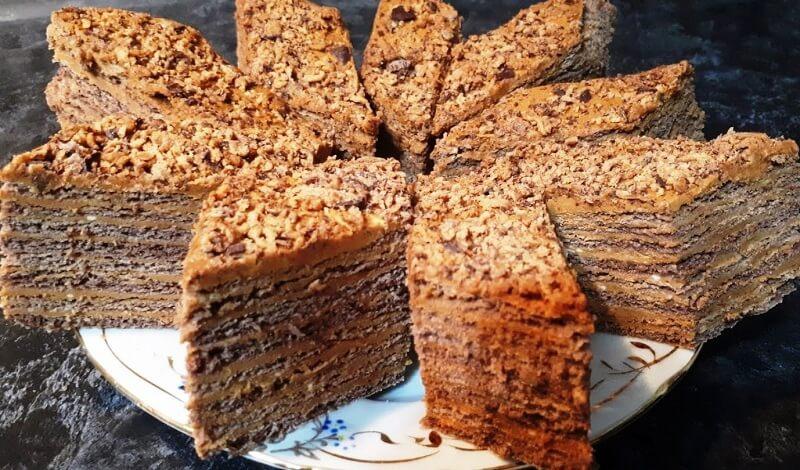 Вкусный торт «Микадо»