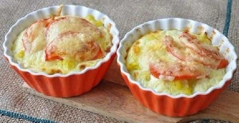 Восхитительно вкусная, ароматная запеканка с цветной капустой и сыром