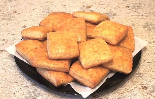 Воздушное творожное печенье