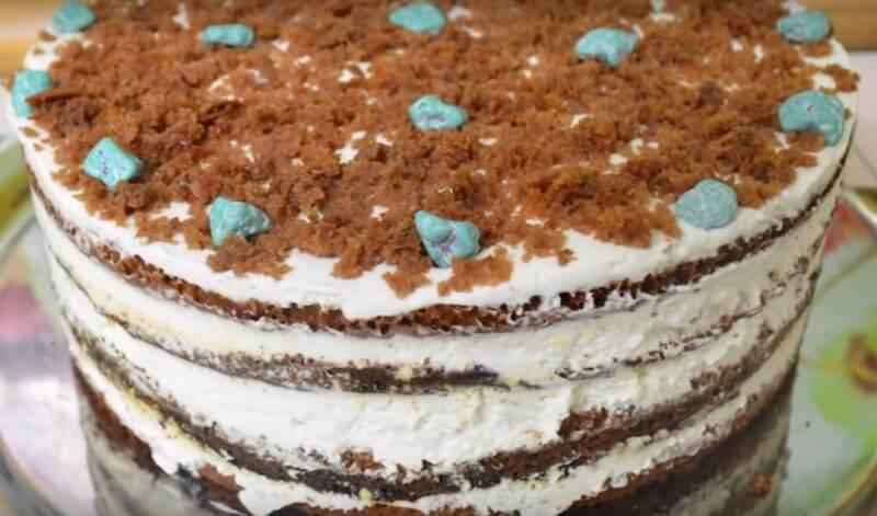 Знаменитый новогодний торт «Венский»