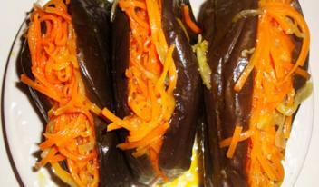 Безупречный рецепт на лето: квашенные баклажаны с начинкой