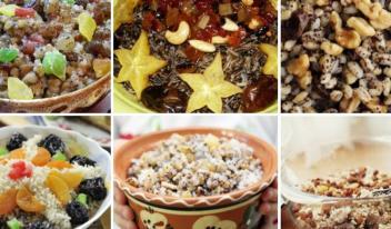 Богатая кутья, щедрая кутья, голодная кутья… Старинные рождественские рецепты!