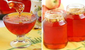 Болгарское яблочное желе-варенье. Вкусное желе, мне оно напомнило мед!
