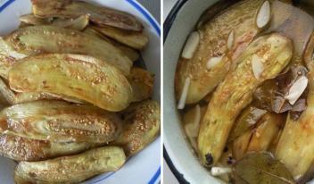 Быстрые маринованные баклажаны. Невероятно вкусно!