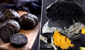 Черный хлеб: невероятно вкусный и красивый