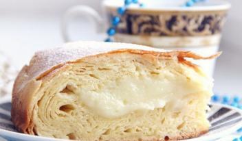 Египетская кухня: вкуснейший пирог с заварным кремом
