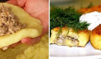 Эти необычные картофельные зразы правят бал среди экономичных, вкусных и питательных блюд!