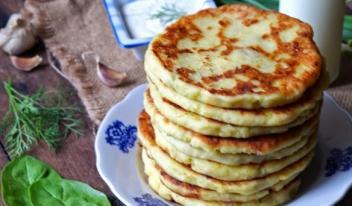 Финские лепешки из картофельного теста