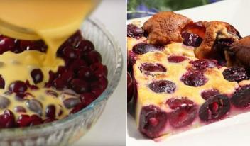 Французская кухня: идеальный пирог с вишней «Клафути»